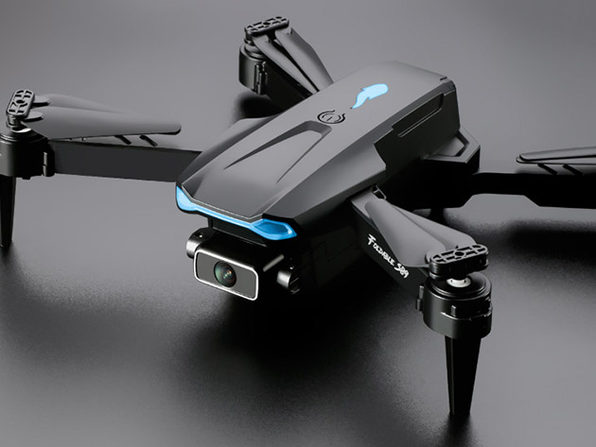 MacTrast Deals: Black GPS 4K Drone 106 Pro with Gimbal & Electronic Image Stabilization
