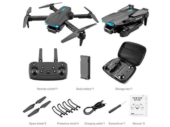 Black GPS 4K Drone 106 Pro