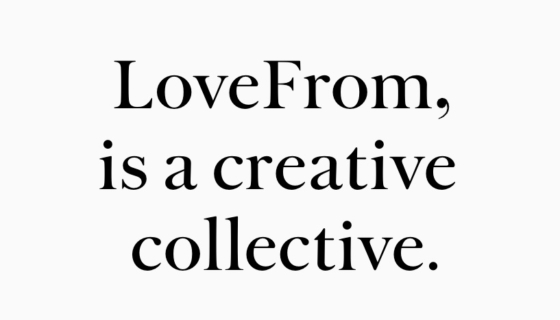 LoveFrom Website